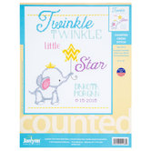 Twinkle Twinkle Counted Cross Stitch Kit